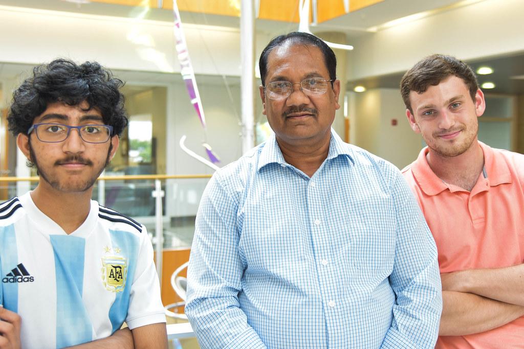 Portrait of Saathvik Kannan, Kamal, Singh, and Austin Spratt