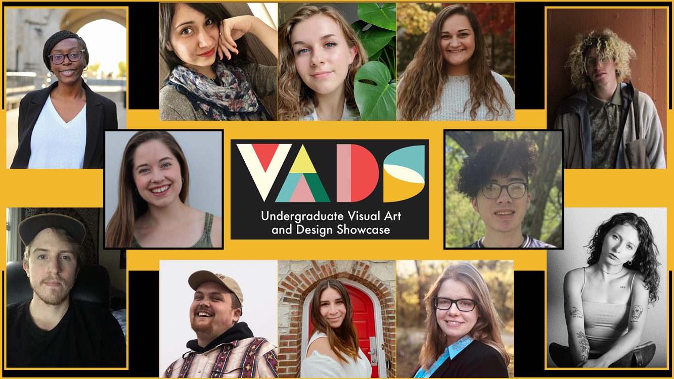 VADS 2021 collage of portraits