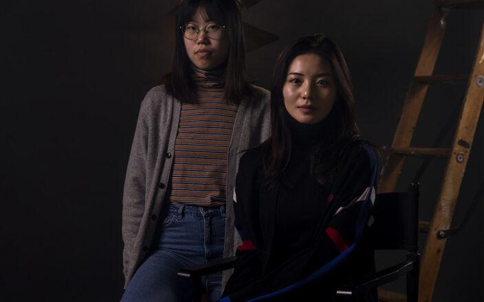 Portrait of Fanxi Sun and Roxanne Wan