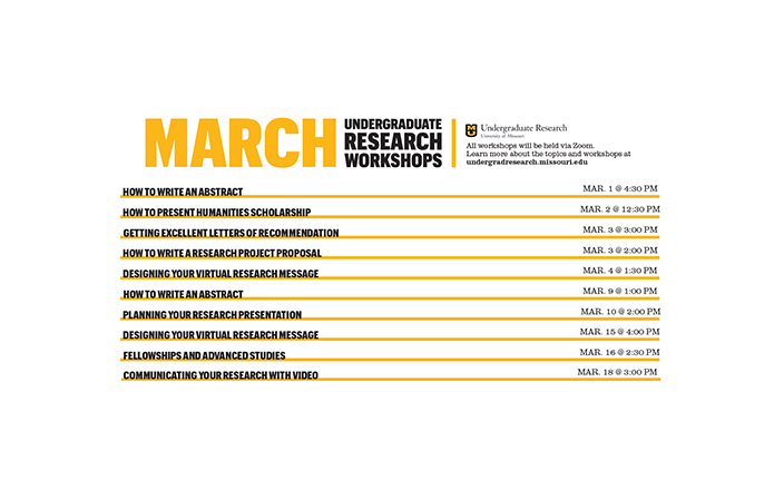 March Workshops
