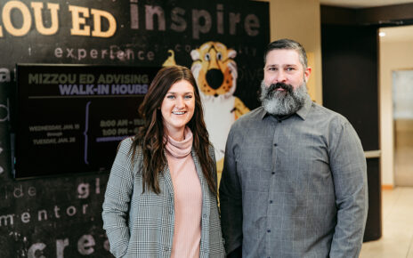 Portrait of Adrienne Skelton and Chad Rose in the MU College of Education